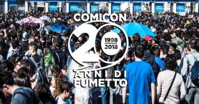 COMICON 2018- la fiera del fumetto compie vent'anni.