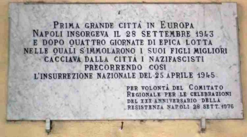 """Ieri partigiani, Oggi Antifascisti"""