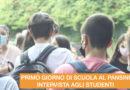 PRIMO GIORNO DI SCUOLA – INTERVISTA AGLI STUDENTI