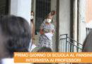 PRIMO GIORNO DI SCUOLA – INTERVISTA AI PROFESSORI